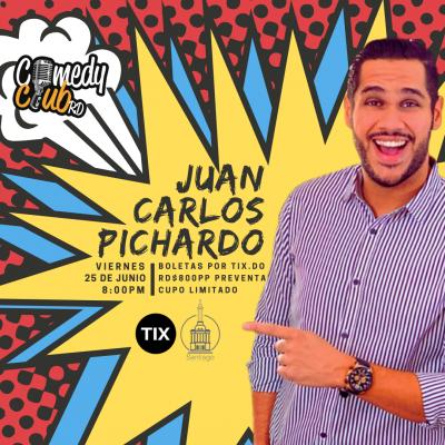 JUAN CARLOS PICHARDO EN SANTIAGO